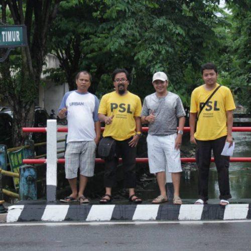 proyek tiang papan nama jalan siburik belitung