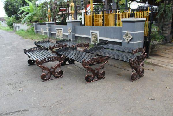 proyek bangku antik klasik kabupaten belitung