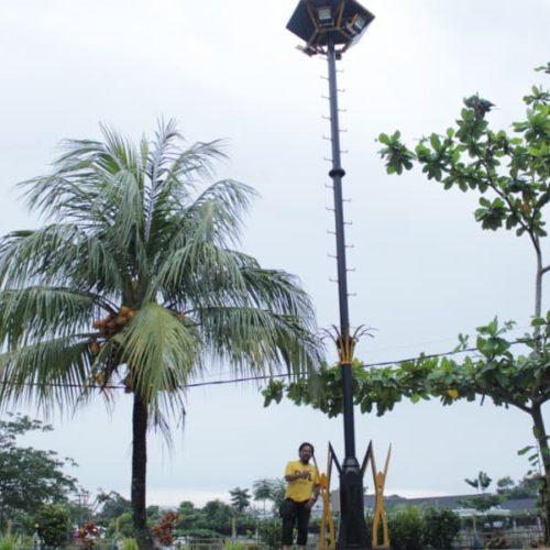 proyek tiang lampu highmast pemkab belitung