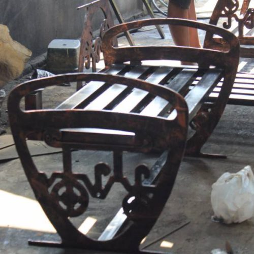proyek kursi cor stasiun tugu yogyakarta