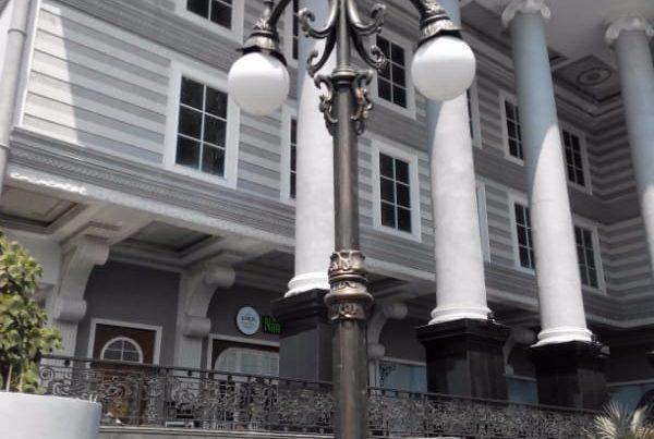 proyek tiang lampu taman jogja city mall cabang empat