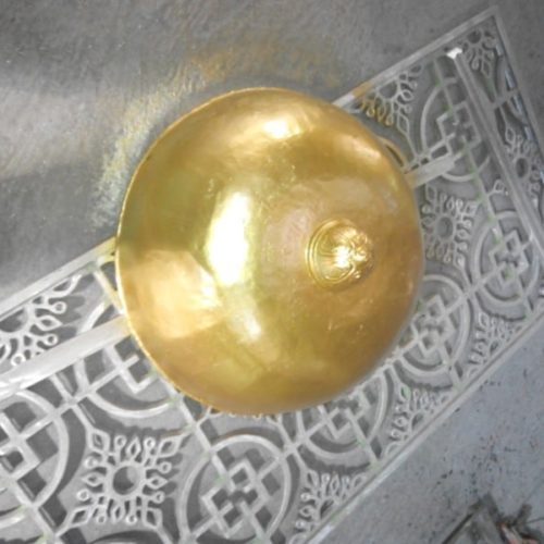 proyek lampu masjid ornamental islami