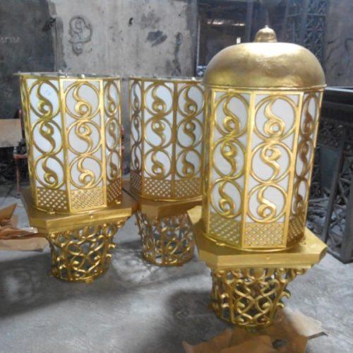 proyek lampu masjid ornamental