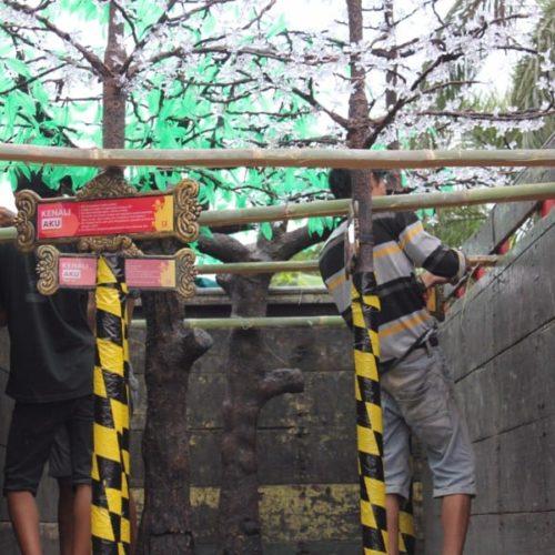 proyek pohon dekoratif kabupaten sampang