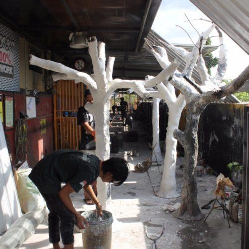 proyek lampu pohon pemerintah kabupaten sampang