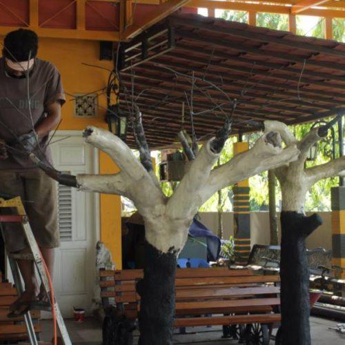 proyek taman dekoratif kabupaten sampang madura