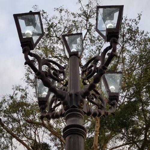 proyek tiang lampu alun-alun kabupaten purworejo