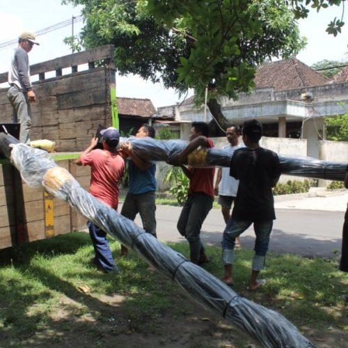 proyek lampu penerangan jalan heritage unik kabupaten cianjur