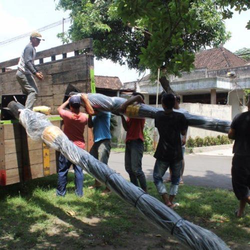 proyek lampu penerangan jalan heritage unik pemkab cianjur