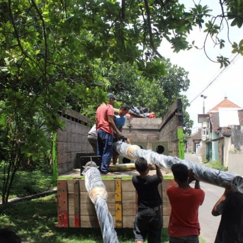 proyek lampu penerangan jalan heritage unik cianjur