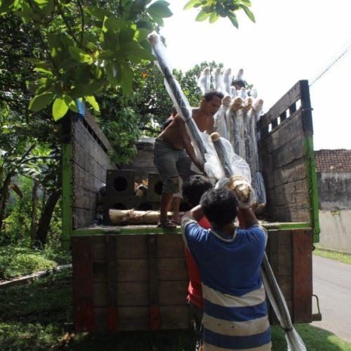 proyek kabupaten cianjur tiang lampu penerangan jalan