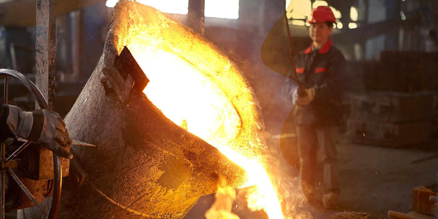 manufaktur pengecoran logam bidang tiang lampu