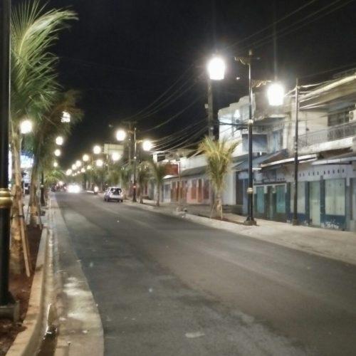 proyek pemkab cianjur tiang lampu PJU heritage