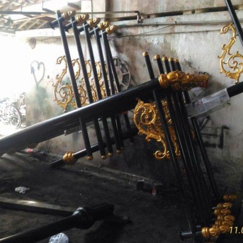 proyek tiang lampu PJU heritage pemkab cianjur