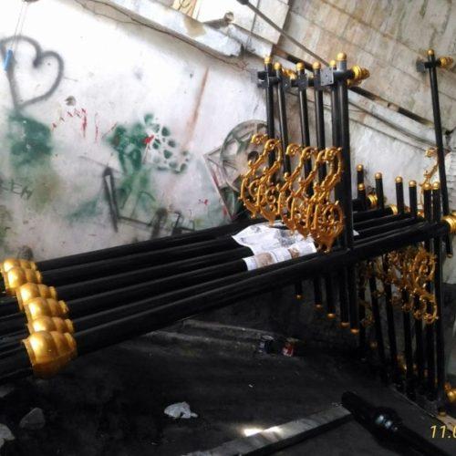 proyek tiang lampu penerangan jalan umum heritage cianjur