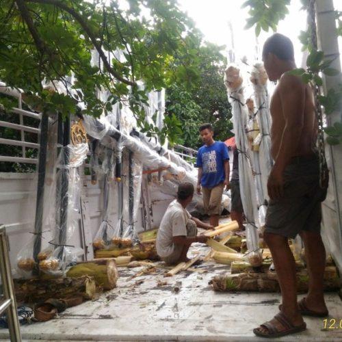 proyek tiang lampu penerangan jalan kabupaten cianjur 2017