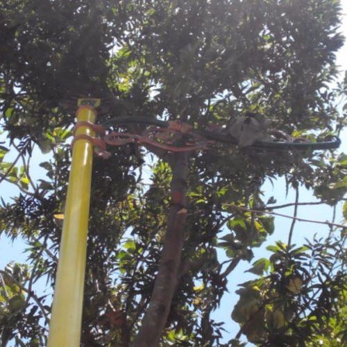 proyek tiang lampu antik klasik kabupaten klaten
