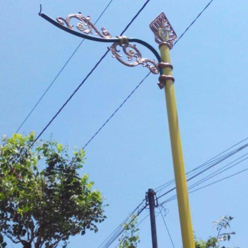 proyek tiang lampu antik kabupaten klaten
