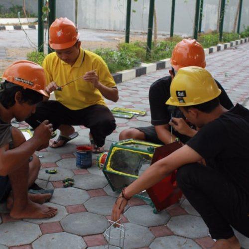 proyek tiang lampu klasik kantor gubernur yogyakarta