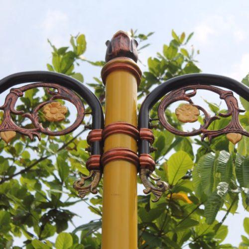 proyek tiang lampu cabang klasik lombok tengah