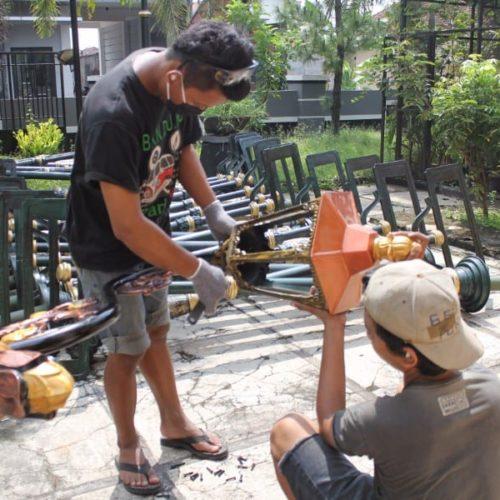 proyek tiang lampu cabang cor lombok tengah