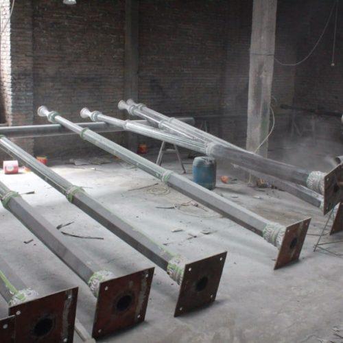 proyek bangkalan madura tiang lampu klasik trunojoyo