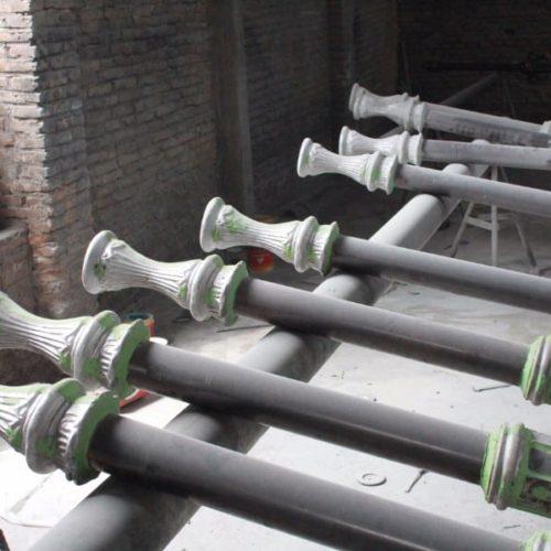 proyek tiang lampu klasik trunojoyo madura