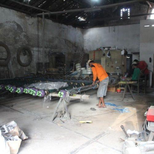 proyek purworejo tiang lampu PJU