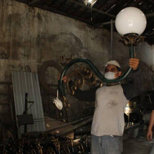 proyek tiang lampu PJU pemkab purworejo