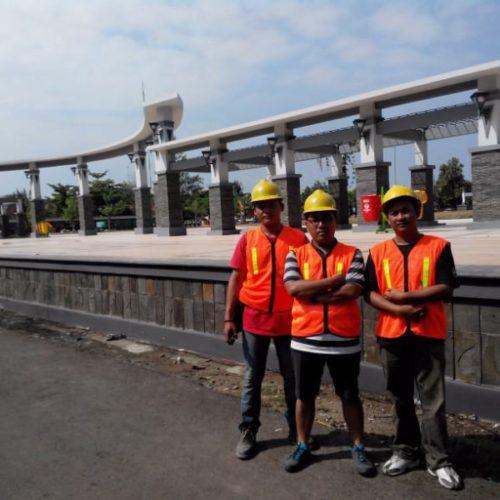 proyek lampu taman klasik unik alun-alun kabupaten rembang