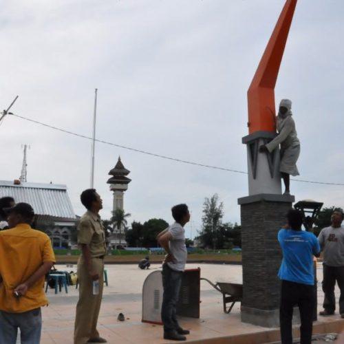 proyek tiang lampu kabupaten rembang