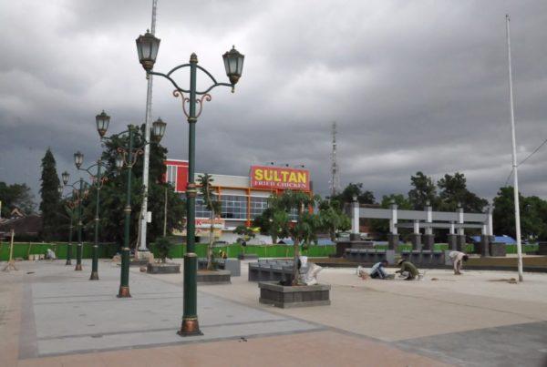 proyek tiang lampu antik kabupaten rembang