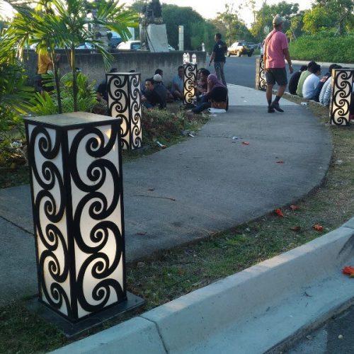 lampu-pedestrian-antik-GWK-Bali (4)