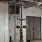 tiang lampu pju tunggal