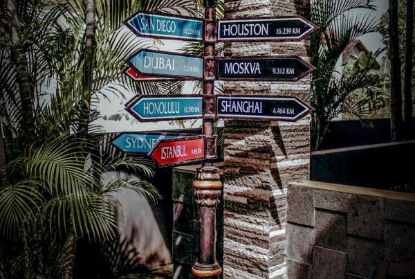 papan nama jalan