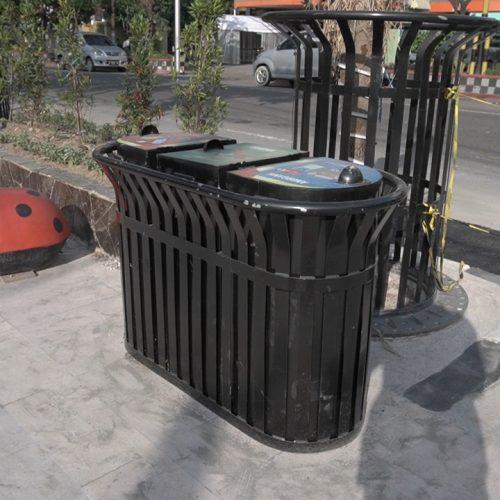 tempat sampah 3 in 1