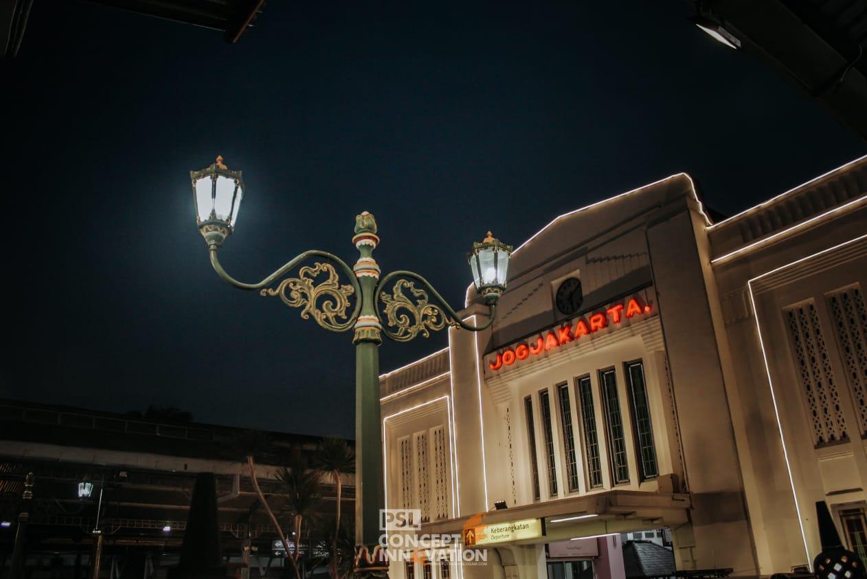 Tiang Lampu Penerangan Jalan Jayapura