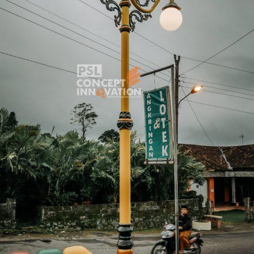 tiang lampu sleman