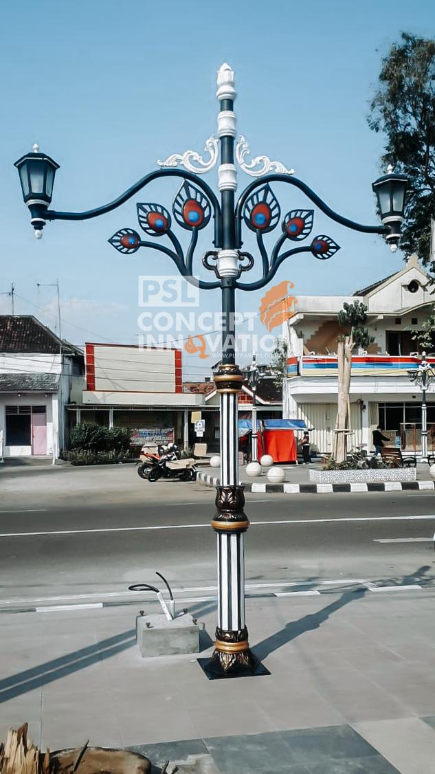 Tiang Lampu Antique Untuk Ponorogo