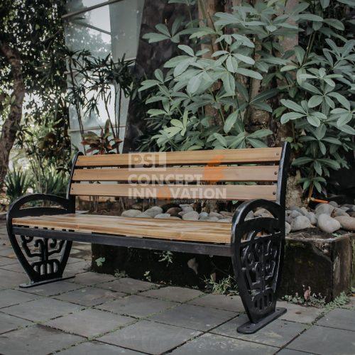 kursi taman cor